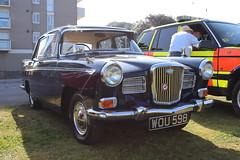 Wolseley 15/60 WOU598 (Andrew 2.8i) Tags: classics meet show cars car classic weston westonsupermare british saloon sedan a50 a55 a60 morrisoxford austincambridge 1560 wolseley