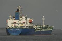 FAIRCHEM CONQUEST - Nieuwe Waterweg - Hoek van Holland (Jan de Neijs Photography) Tags: ship vessel zuidholland holland nederland thenetherlands dieniederlande southholland tamron150600g2 tamron tamron150600 150600 g2 schiff rotterdam hoekvanholland boot denieuwewaterweg waterweg sea hvh schip nl shipspotting boat noordzee northsea hookofholland maasmond maasgeul oilchemicaltanker tanker oil chemical fairchemconquest imo9798648 9798648 panama