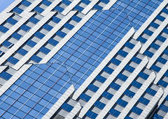 (jfre81) Tags: chicago two prudential plaza diagonal lines broken minimalist abstract blue wilco city urban new east side downtown architecture james fremont photography jfre81 canon rebel xs eos