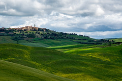 View of Pienza early morning. (sharon.verkuilen) Tags: italy tuscany valdorcia landscape sonya7rii pienza