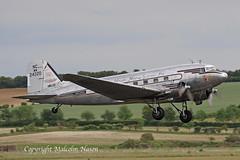 DOUGLAS C47A NC24320 JOHNSON FLYING SERVICE INC (shanairpic) Tags: propliner dc3 c47 dakota duxford daksoverduxford normady