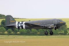DOUGLAS C47A N74589\42-24064 USAF (shanairpic) Tags: propliner dc3 c47 dakota duxford daksoverduxford normady