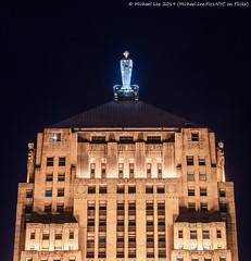 Chicago Board of Trade Building (20190526-DSC03966-Edit) (Michael.Lee.Pics.NYC) Tags: chicago architecture cityscape cbot chicagoboardoftrade lasallestreet night sony a7rm2 fe70300mmg