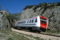 7 123 014  Labin  17.04.19 (w. + h. brutzer) Tags: labin eisenbahn eisenbahnen train trains jugoslawien diesel railway triebzug triebwagen zug webru analog nikon vt