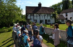 Visiting Snailslynch Farm (Chrispics Photography) Tags: farnham walking festival