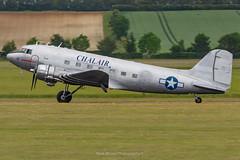 C-47B Chalair F-AZOX (Mark_Aviation) Tags: c47b chalair fazox c47 raf rcaf vip transport queen england dc3 dakota dakotas