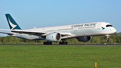 B-LRR (AnDyMHoLdEn) Tags: cathaypacific a350 oneworld egcc airport manchester manchesterairport 05r