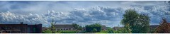 Bubbling away (Andy Stones) Tags: clouds cloud cloudscape sky skywatching convection weather weatherwatch nature naturephotography naturelovers natureseekers natureporn wideview panoramic pano trees urban houses rooftops view outside outdoor image imageof imagecapture photography photoof scunthorpe lincolnshire northlincs northlincolnshire nlincs