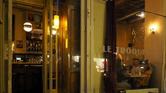 French evening relax (routemates) Tags: vienna austria schonbrunn europe wien street travel girl bar night relax drink chill lights terrace dance
