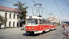 2003-08-15 Praha Tramway Nr.6568 (beranekp) Tags: czech praha prague prag tram tramvaj tramway tranvia šalina strassenbahn elektrika električka t3 tatra 6568