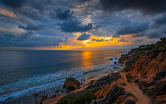 Blue & Gold! Malibu Blue Hour Breaking Storm Colorful Clouds Sunset! Fine Art Landscape & Nature Photography Dr. Elliot McGucken Nikon D810 & 14-24mm F2.8 Nikkor Wide Angle Lens. Malibu Socal PAcific Ocean Sunset 8K High Res Nature Beach Photos (45SURF Hero's Odyssey Mythology Landscapes & Godde) Tags: blue gold malibu hour breaking storm sunset fine art landscape nature photography dr elliot mcgucken nikon d810 1424mm f28 nikkor wide angle lens socal pacific ocean 8k high res photos