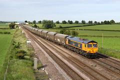 66723 6N45 colton 10.06.2019 (Dan-Piercy) Tags: gbrf class66 66723 colton southjn 6n45 drax tynedock biomass empties