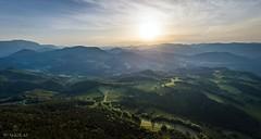 The Beginning of the Alps (Wim Air) Tags: hohe wand lower austria niederösterreich wimairat alps alpen sundown sonnenuntergang dji mavic pro panorama