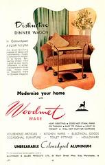 Woodmet Aluminium Dinner Wagon (growlerthecat) Tags: