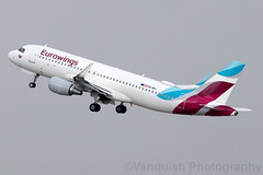 OE-IEU Eurowings Europe A320-200 Salzburg Airport (Vanquish-Photography) Tags: oeieu eurowings europe a320200 salzburg airport vanquish photography vanquishphotography ryan taylor ryantaylor aviation railway canon eos 7d 6d 80d aeroplane train spotting lows szg slazburg salzburgwamozartairport wamozart austria