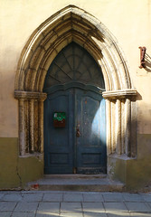 'Early doors' (Timster1973 - thanks for the 16 million views!) Tags: tallinn estonia oldtown doors doorway timknifton timster1973 decor old travel city town europe mirrorless canonm3 canonmirrorless walkswithnon blue light