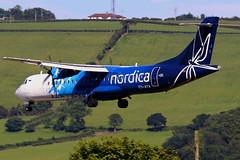 ES-ATA_12 (GH@BHD) Tags: esata atr atr72 atr72600 nordica bhd egac belfastcityairport turboprop aircraft aviation airliner