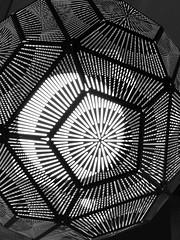 Enlightened (Diorama Sky) Tags: uk light shadow england london lamp university unitedkingdom line cartwrightgardens pentagon residencehall universityoflondon dioramasky thegardenshall fora bloomsbury