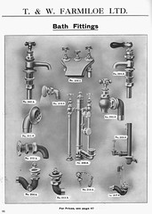 Bath Fittings. T & W Farmiloe's 1909 Catalogue (growlerthecat) Tags: tradecatalogue catalogue bath brassware plumbing farmiloe