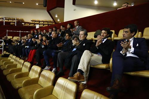Homenaje al equipo profesional de fútbol Everton de Viña del Mar
