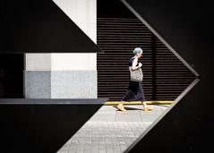 One Direction - City of London 2019 (XBeauPhoto) Tags: fuju london xt30 streetphoto streetphotography shape arrrow candid silhouette stencil urbanvibe urban streetlife