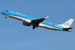 PH-EZA_01 (GH@BHD) Tags: pheza embraer erj erj190 kl klm klmcityhopper royaldutchairlines aircraft aviation airliner regionaljet bhd egac belfastcityairport