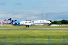 Nordica   CRJ700   ES-ACF (matousek1199) Tags: lkpr airliner pragueairport prague