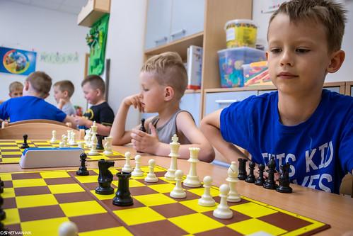 V Szachowe Mistrzostwa Przedszkola Abracadabra Podchorążych-19