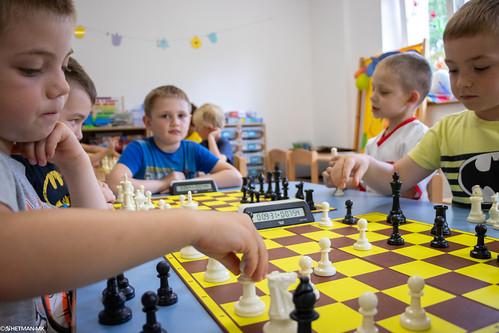 V Szachowe Mistrzostwa Przedszkola Abracadabra Podchorążych-15