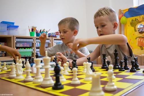 V Szachowe Mistrzostwa Przedszkola Abracadabra Podchorążych-7