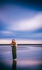 Purple beach (HetSpul) Tags: photoshoot ijmuiden beach strand panasonic lumix 35100 28 gx8 redhead