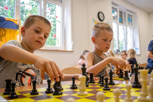 V Szachowe Mistrzostwa Przedszkola Abracadabra Podchorążych-6