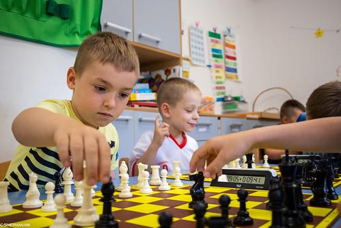 V Szachowe Mistrzostwa Przedszkola Abracadabra Podchorążych-1