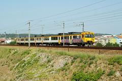 CP 592 | Ermesinde (Fábio-Pires) Tags: portugal cp 592 cp592 ermesinde macosa ateinsa camello diesel tracçãodiesel automotora railcar commuterunit interregional ir linhadodouro