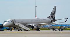 ERJ190   N527AH   AMS   20190602 (Wally.H) Tags: embraer erj190 erj190bj embraer190 emb190 linage1000 n527ah ams eham amsterdam schiphol airport
