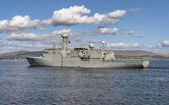 HDMS THETIS F357 (fordgt4040) Tags: hdmsthetisf357 coastal nikon nikond750 nikkorlens royaldanishnavy navy naval nautical warship navalvessel marine sea usnavy inverclyde westcoast westofscotland scotland glasgow firthofclyde clyde