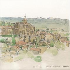 Saint-Antoine l'abbaye (fabien.denoel) Tags: france