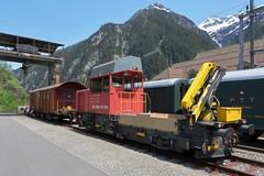 Göschenen - Tm 234 SBB I (Kecko) Tags: 2019 kecko switzerland swiss schweiz suisse svizzera innerschweiz zentralschweiz uri gotthard gotthardbahn göschenen sbb 988552341014chsbbi tm234 ameise sangottardo bahn railway eisenbahn railroad bahnhof station bautraktor bauzug work tractor bombardier stadler swissphoto geotagged geo:lat=46669400 geo:lon=8590220