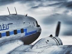 Air travel used to be romantic … (marc.barrot) Tags: aircraft airshow uk cb22 cambridgeshire duxford duxfordaerodrome daksovernormandy daksoverduxford ha–lix 18433209 airline malév dc3 douglas li–2 lisunov