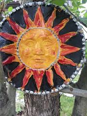 Gardening Spring Canada (Mr. Happy Face - Peace :)) Tags: wtbw gardening art2019 art ceramics landscape flowergarden yyc canada albertabound makemesmile happiness love metallic