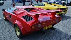 (Uno100) Tags: lamborghini countach 5000 s quattrovalvole red gold rear spoiler super car sunday 2019 assn tt circuit vredestein