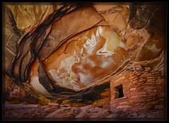 Fallen Roof (cwaynefox) Tags: openedition southwest usa unitedstates utah gallery indianruin landscape redrocks scenic