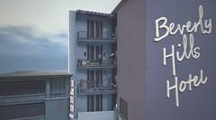 Beverly Hills Hotel (Saga Mea) Tags: hotel beverlyhills architecture building virtualworld digitalart 3d avatar secondlife