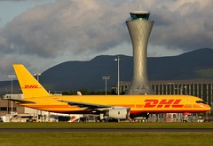 G-BMRD DHL (Gerry Hill) Tags: edinburgh airport gerry hill scotland turnhouse ingliston d90 d80 d70 d7200 d5600 boathouse bridge nikon aircraft aeroplane international airline edi egph airplane transport cargo freight gbmrd dhl boeing 757236sf b757 b 757 236 f
