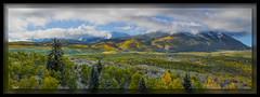 Peeking Peak (cwaynefox) Tags: aspen aspensfall colorado keeblerpass usa unitedstates yellow