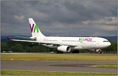 IMG_0971FL14 (Gerry McL) Tags: wamos a330 eclnh airbus air aircraft airliner airplane glasgow scotland egpf gla