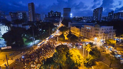 Recife, 30 de maio de 2019. O segundo Dia Nacional em Defesa da Educação, na quinta-feira (30), foi mais uma demonstração da insatisfação popular com o governo do presidente Jair Bolsonaro (PSL). (Marco Zero Conteúdo) Tags: 30m defesadaeducação protesto
