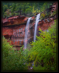 111023_LwrEmrPool2_PS_PD (cwaynefox) Tags: openedition southernutah usa unitedstates waterfall zion zionnationalpark fineart gallery landscape scenic utah
