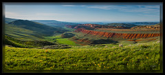 Red Canyon (cwaynefox) Tags: openedition usa unitedstates fineart gallery landscape scenic wyoming