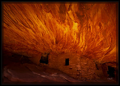 House on Fire (cwaynefox) Tags: openedition southwest usa unitedstates fineart gallery houseonfire indianruin landscape scenic utah